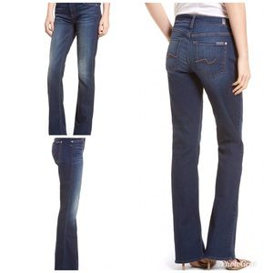 7FAM Bootcut Mid Rise Jeans